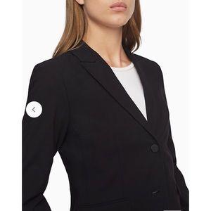 Calvin Klein Two Button Black Suit Jacket